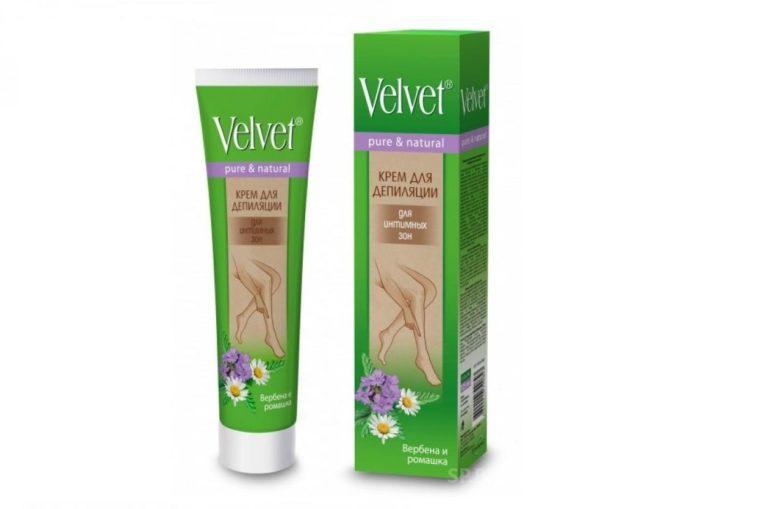 Velvet для интимных зон с ромашкой