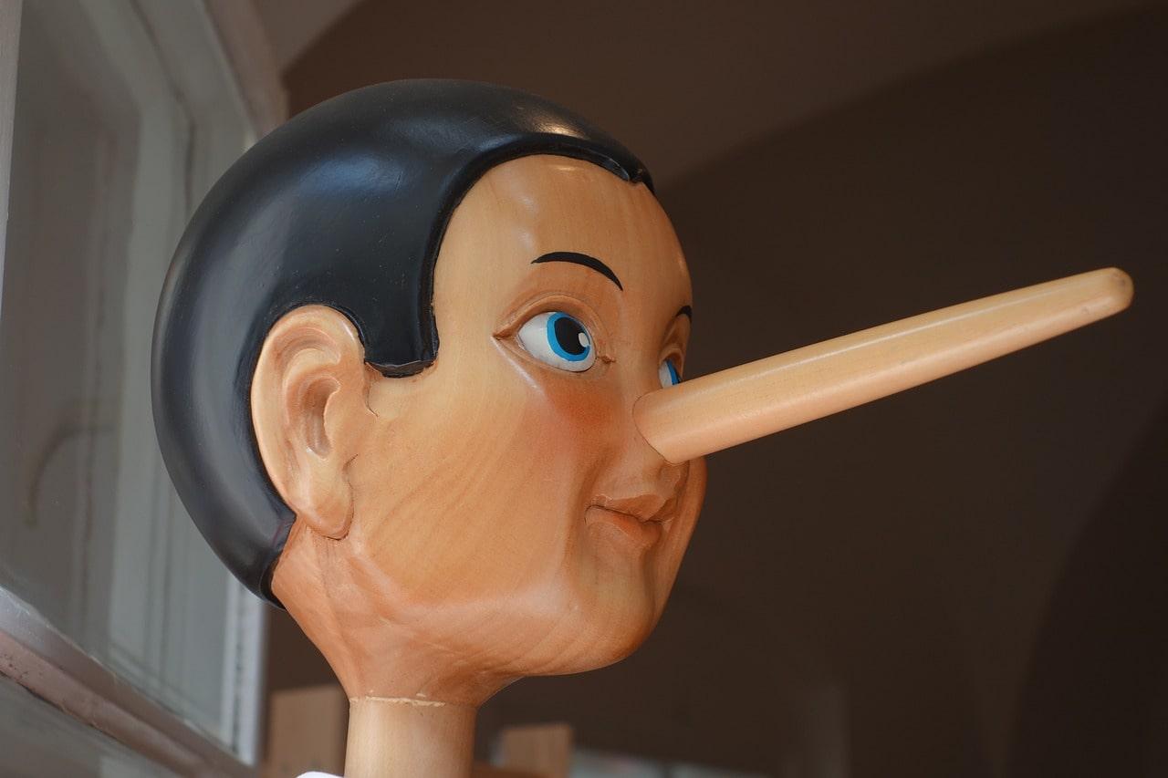 Невербальные признаки лжи