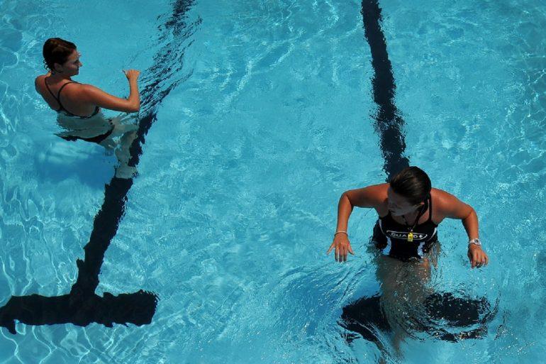 Аквааэробика для начинающих – комплекс упражнений