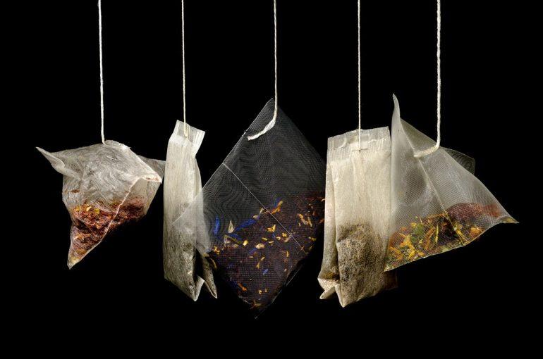 Чайные пакетики для уборки