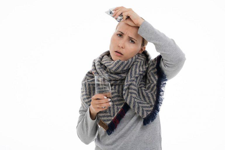 При кашле и простуде