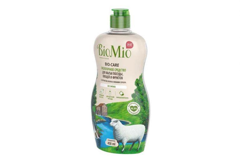 BioMio Без запаха с экстрактом хлопка