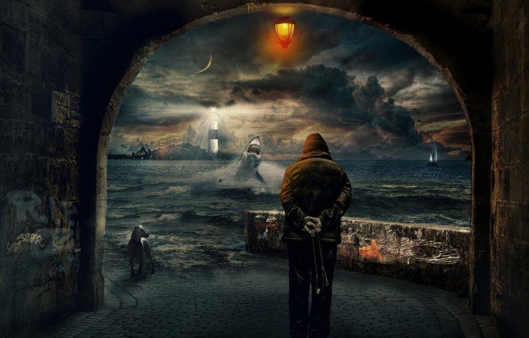 Смотреть на море с маяка