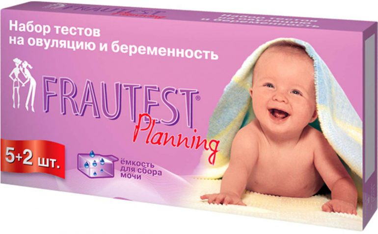 Frautest На определение овуляции и беременности Planning