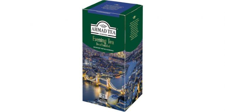 Ahmad tea Evening tea без кофеина в пакетиках