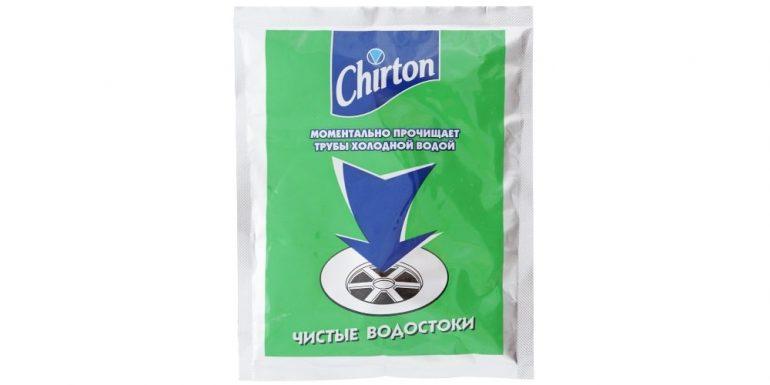 Chirton гранулы для прочистки труб