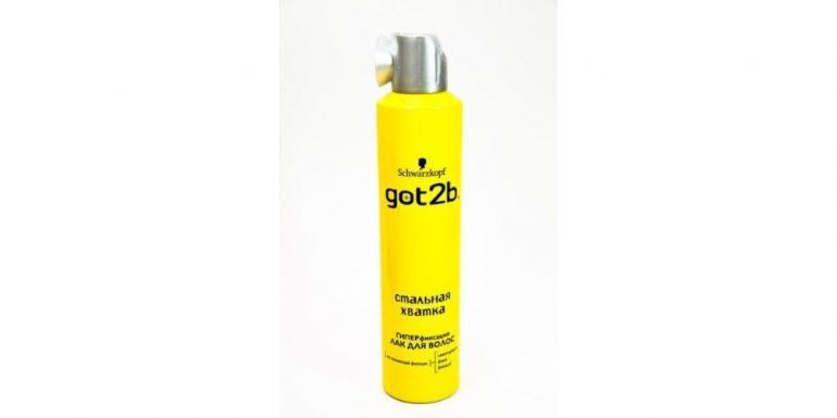 Got2b Лак для волос Стальная хватка, экстрасильная фиксация