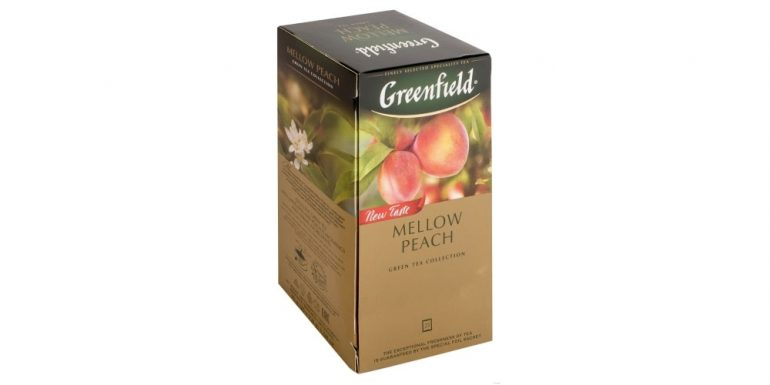 Greenfield Mellow Peach в пакетиках