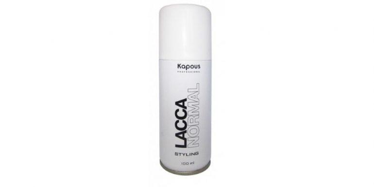 Kapous Professional Лак для волос Studio Normal, средняя фиксация