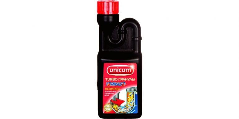 Unicum гранулы для засоров Торнадо
