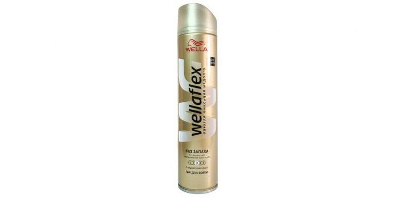 Wella. Лак для волос Wellaflex «Классический» суперсильной фиксации