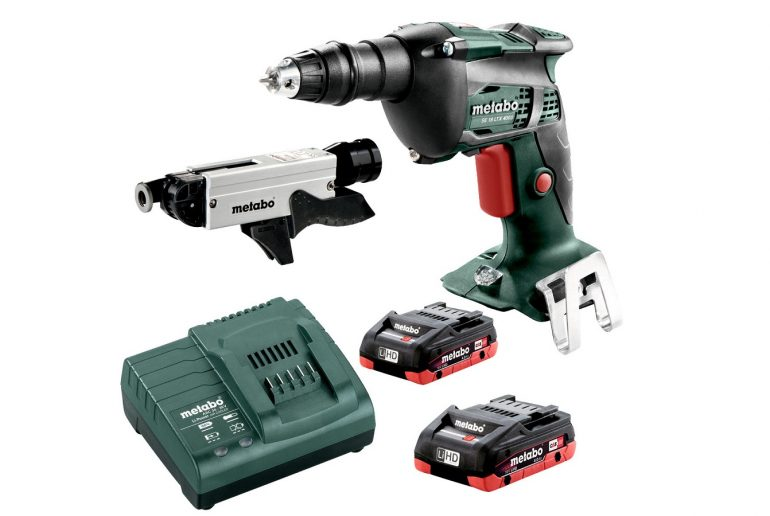 Metabo SE 18 LTX 6000 2.0Ah x2 Case Set 5 Н·м