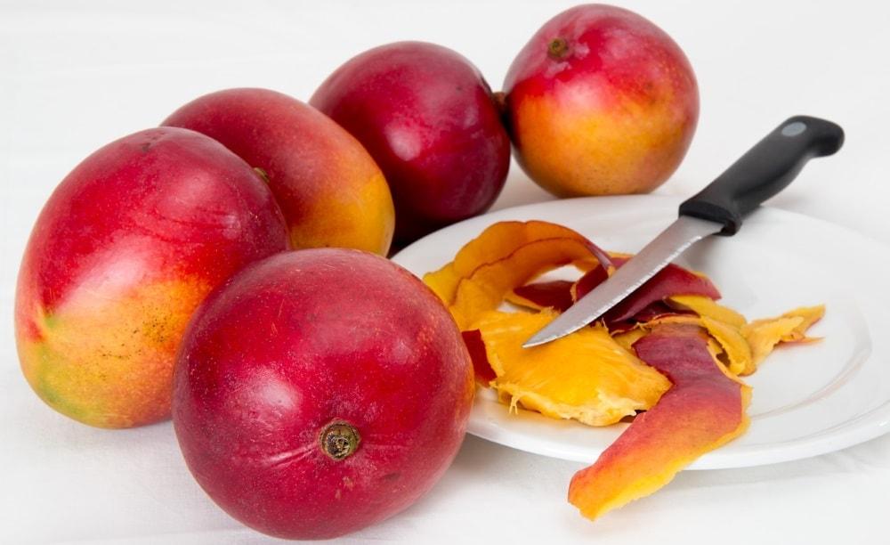 Как нарезать манго - Моя живая еда