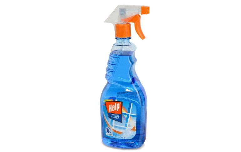 Жидкость Help Свежий озон для мытья стекол