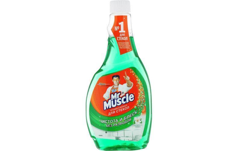 Mr. Muscle Профессионал для стекол с нашатырным спиртом