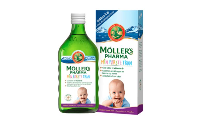 Moller's Pharma Min Forste Tran