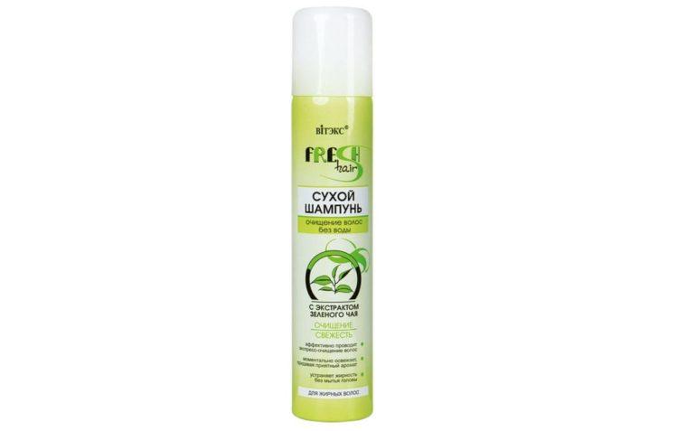 Витэкс Fresh Hair Очищение и Свежесть c экстрактом зеленого чая