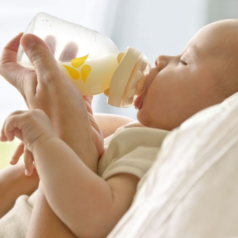 Смешанное вскармливание новорожденных - как кормить правильно