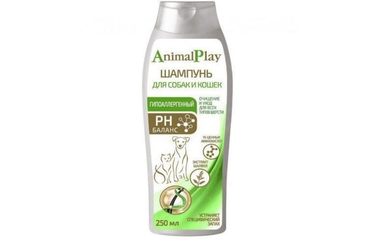 Animal Play дегтярный от перхоти и зуда