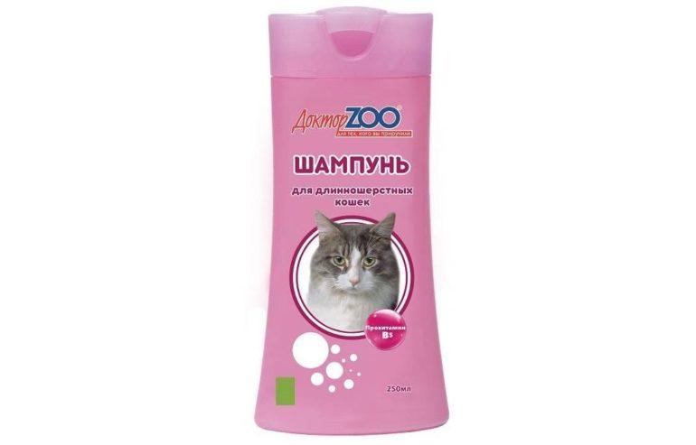 Доктор ZOO для длинношерстных кошек с витамином B5
