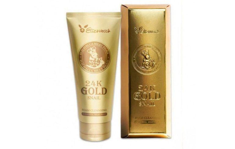 Elizavecca 24K Gold Snail с золотом и улиточным муцином